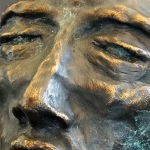 Aftermath, 2012, Bronze, 10 x 6.5 x 5.5 inches (25.4 x 16.51 x 13.97 cm)