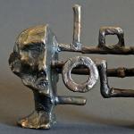 Bronze Maquette #1, 2012, Bronze, 3.25 x 4.5 x 2.25 inches (8.255 x 11.43 x 5.71 cm)